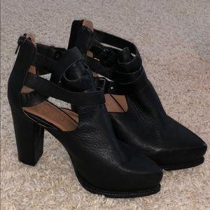 Sexy Black Jeffery Campbell leather heels 8.5
